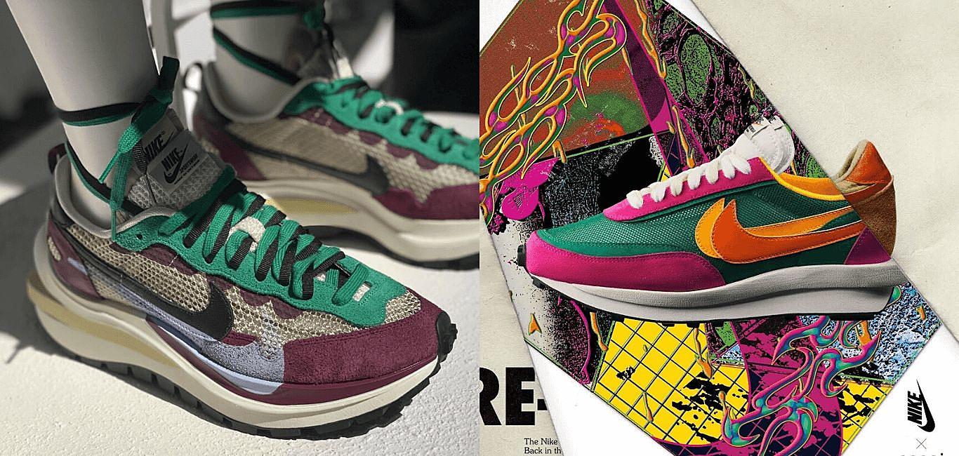 去年驚豔全世界的Nike x Sacai 今年的鞋款一樣沒有讓人失望