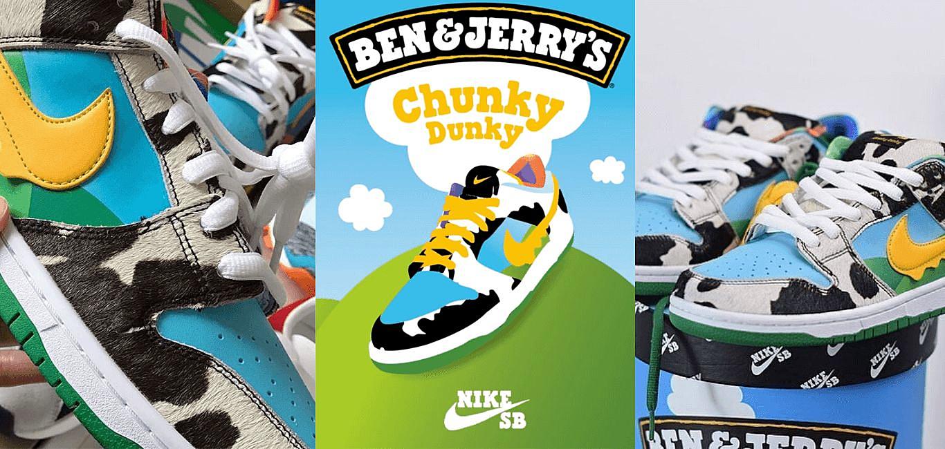 冰淇淋款 SB Dunk Low 聯名的Ben & Jerry's有什麼來歷?