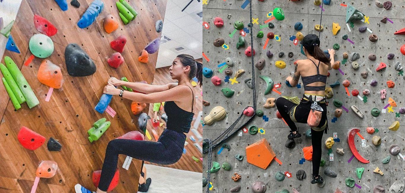 夏天好熱不想出門?「室內攀岩」讓你一個下午燃燒完當天運動量!