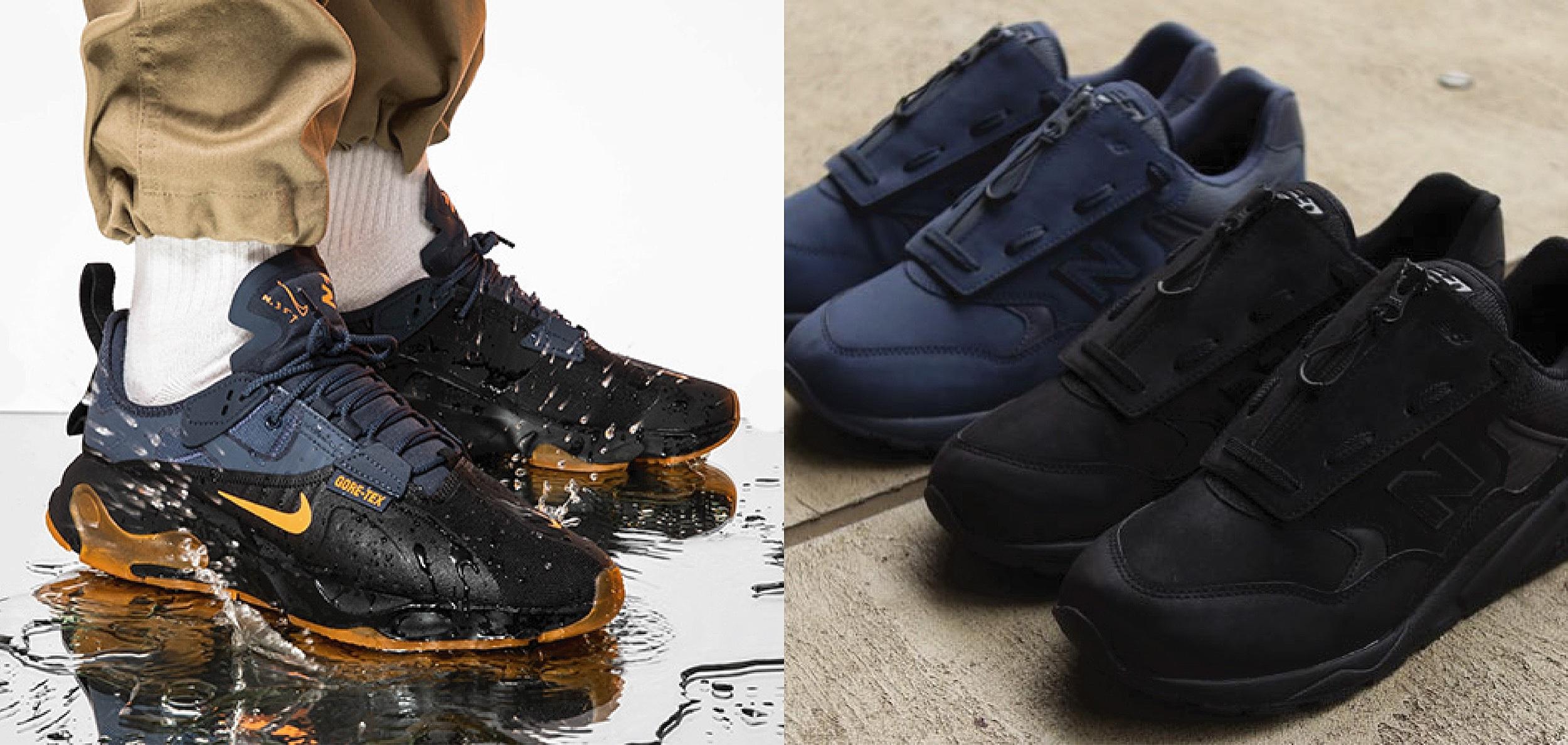 斜風細雨就要 GORE-TEX!盤點四雙雨季必備鞋款!