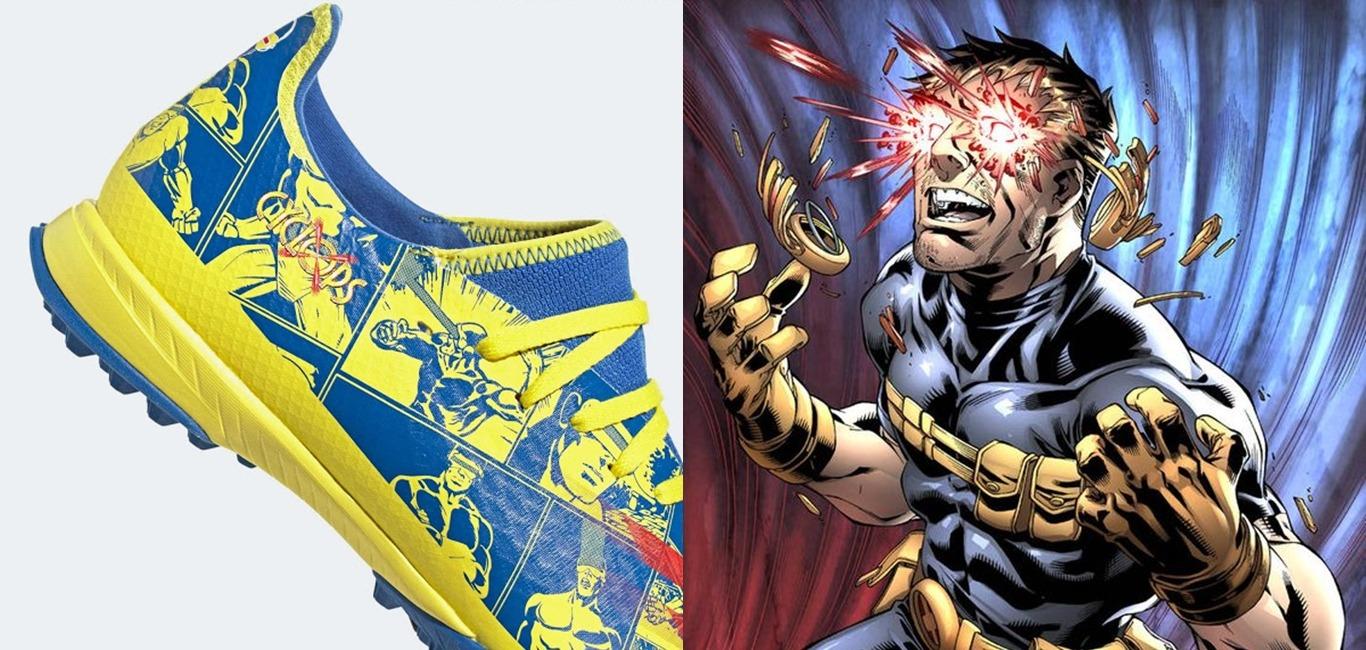 adidas漫威新聯名鞋款「獨眼龍」,主角是真正的X戰警一哥!