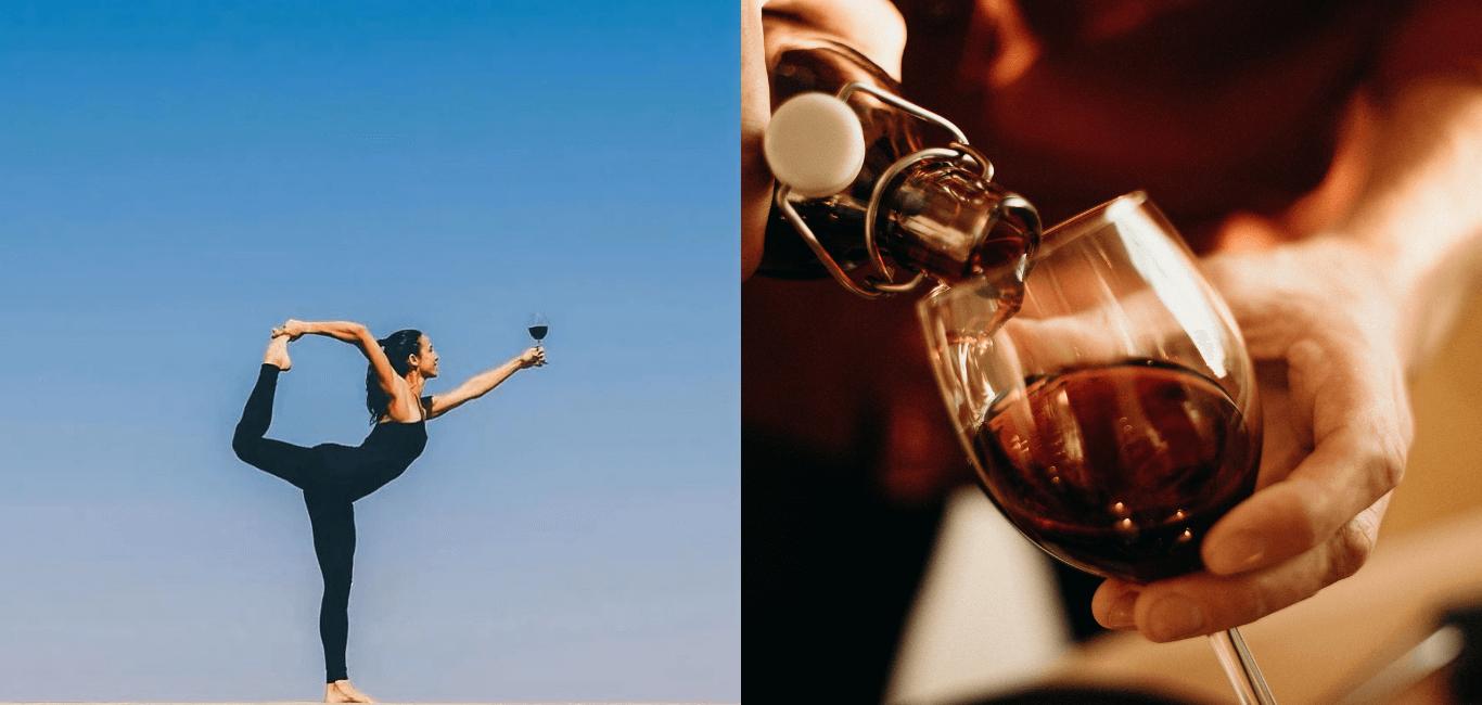 紅遍歐美的「紅酒瑜珈」 不只優雅還讓運動效果更加倍