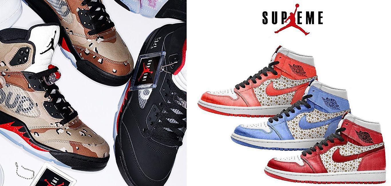Supreme x Air Jordan 如何影響整個球鞋市場?