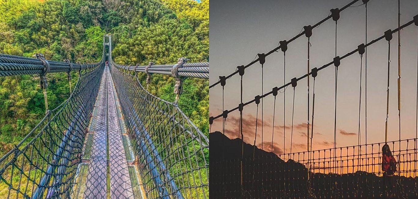 全台6座擁有歷史痕跡的特色吊橋,聳立橫跨於山谷中等你來挑戰!