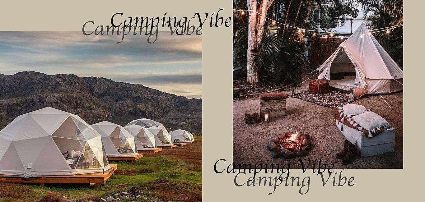 野外露營風格選物,性能、外觀兼具的帳篷讓快門捕捉質感瞬間!