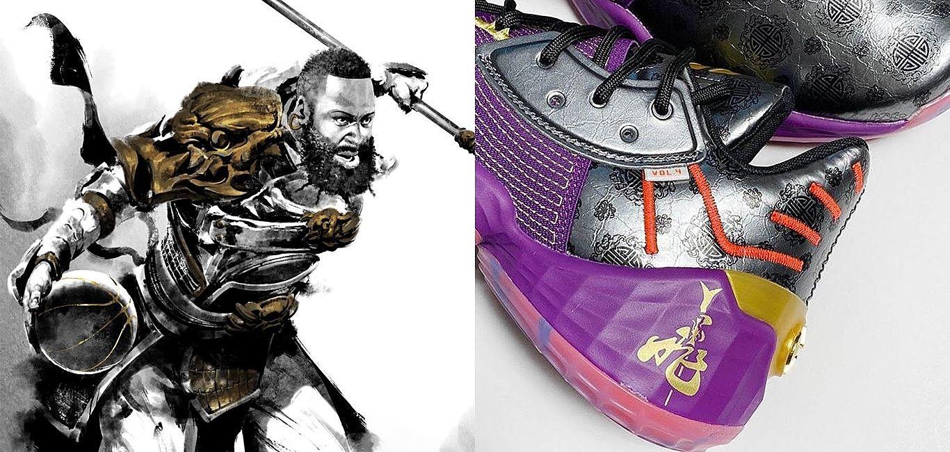 玫瑰羅斯化身關雲長!adidas推出NBA「三國五虎將」球鞋面面觀