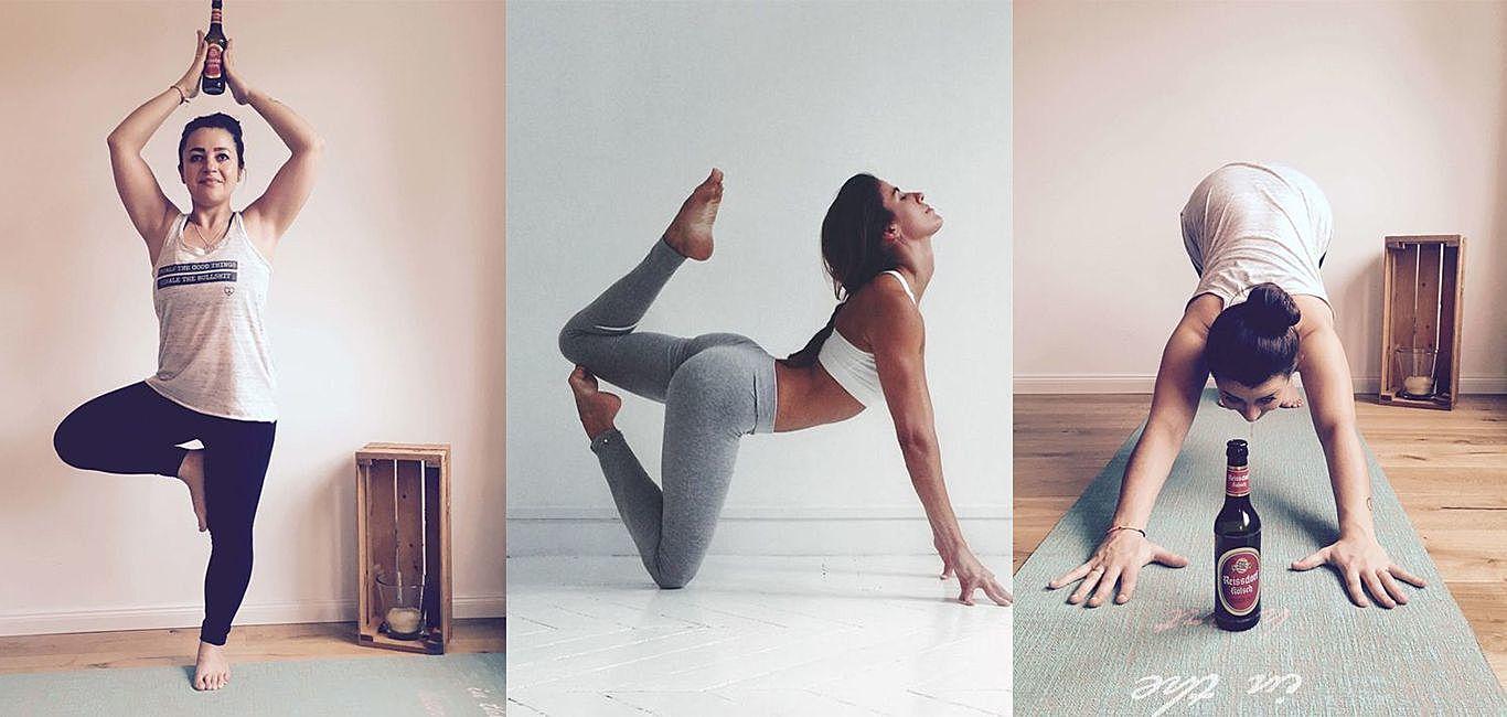 邊喝酒邊運動好Chill ,但風靡全球的「啤酒瑜珈」是否如想像中美好?