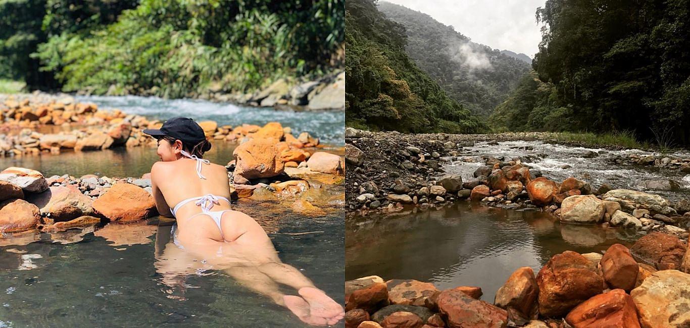 山林間享受溫暖,20分鐘即可抵達的野溪「梵梵溫泉」!
