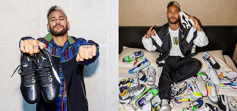王者歸來!結束15年合作關係,內馬爾離開Nike投奔Puma懷抱