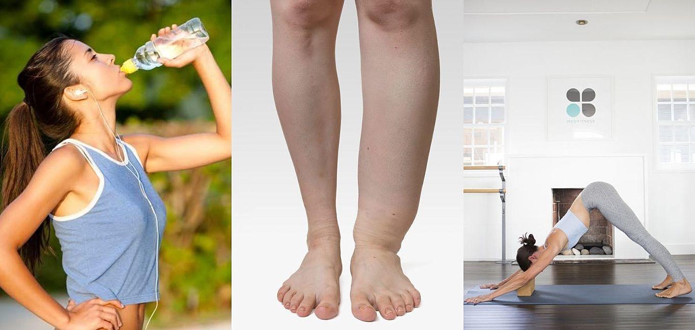 不管怎麼運動腿總是這麼粗,這一切都是「水腫」惹的禍!