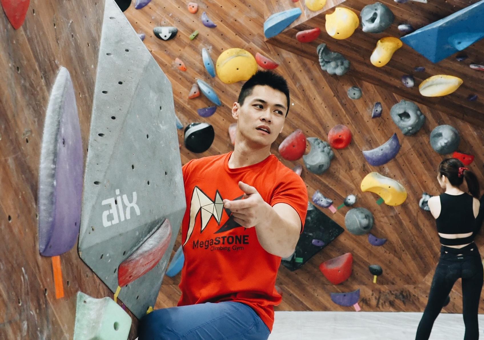 東京奧運新競技項目,健身運動的好選擇-館長老吳與Mega STONE攀岩館