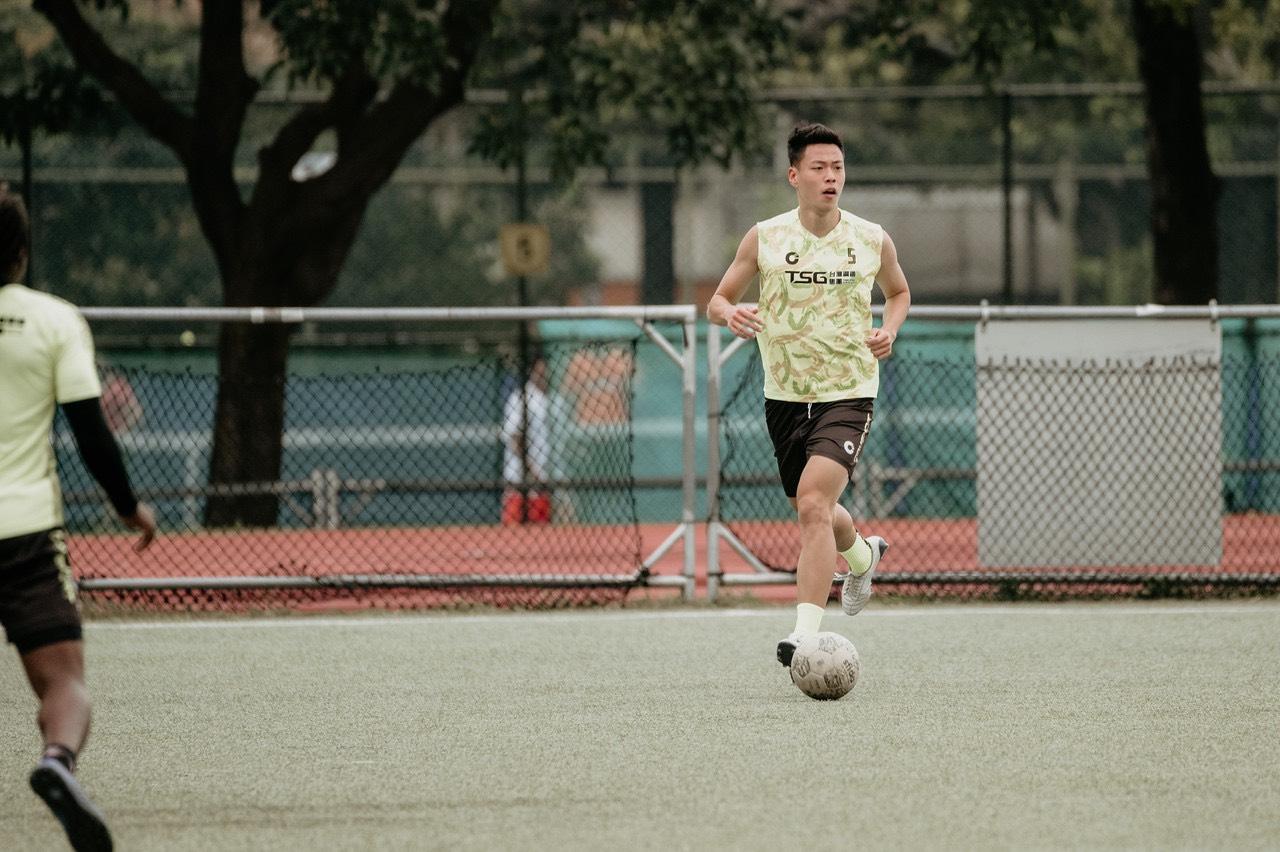 國家隊足球員程昊:堅持是因不想後悔
